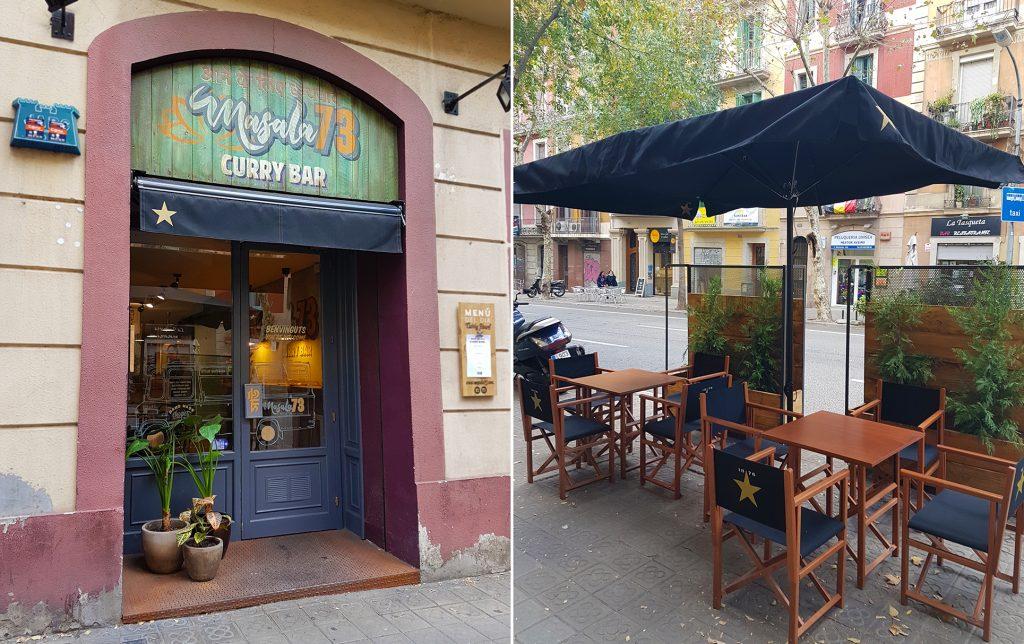 Masala 73 restaurante Barcelona