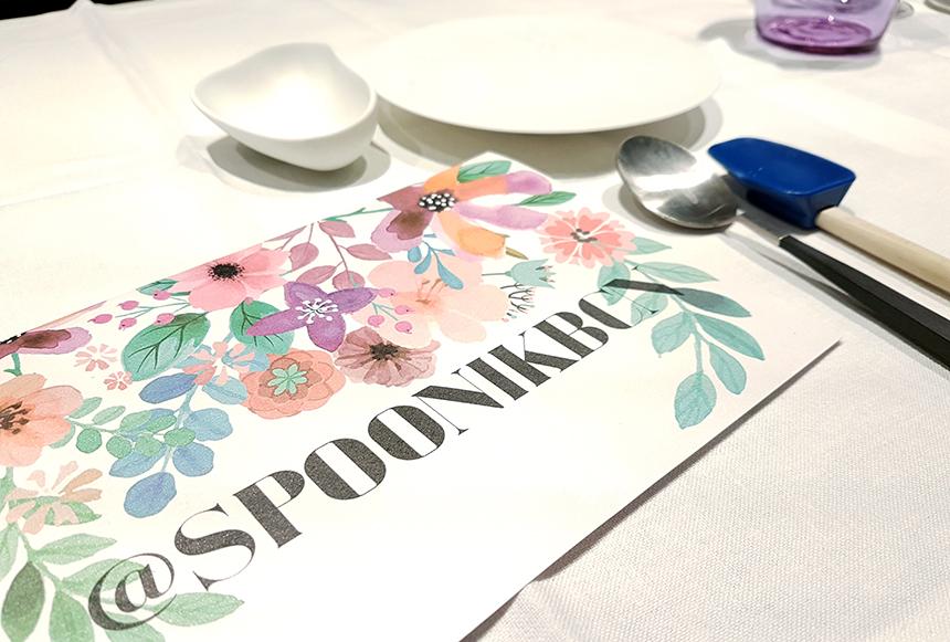 Restaurante Spoonik menu