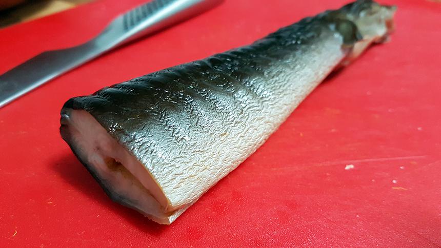 anguila ahumada receta