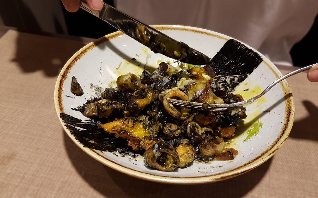 Marimorena. Menú degustación de alcachofa