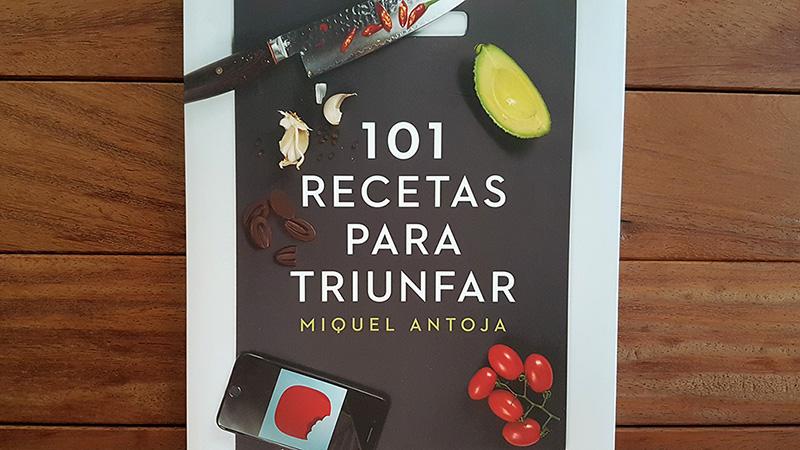 Libro de cocina Miquel Antoja