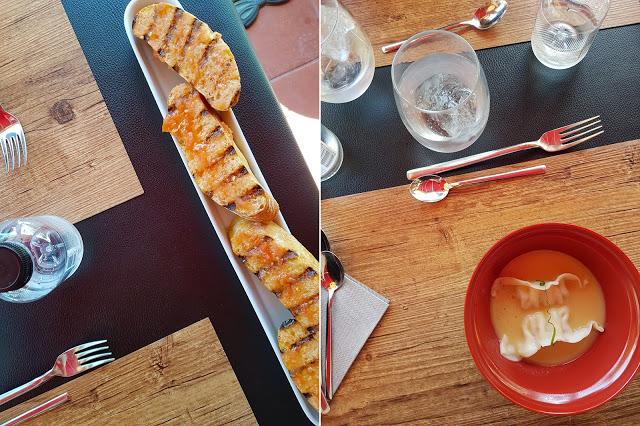 restaurante sa lola blanes menu