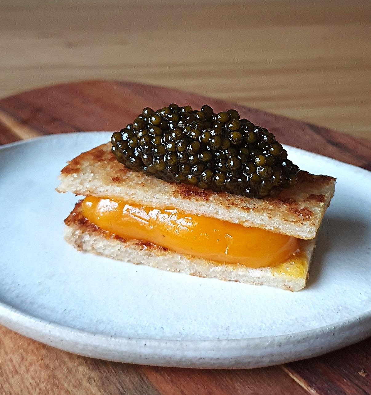 mejor receta caviar bikini