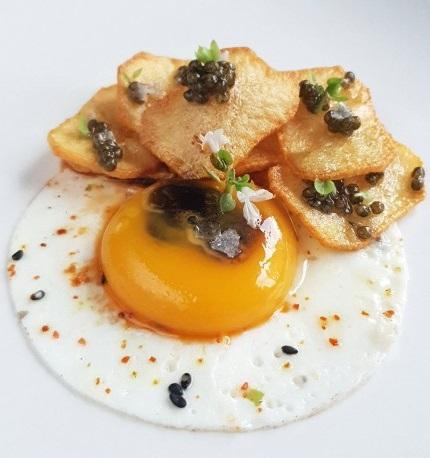 mejor receta caviar huevo
