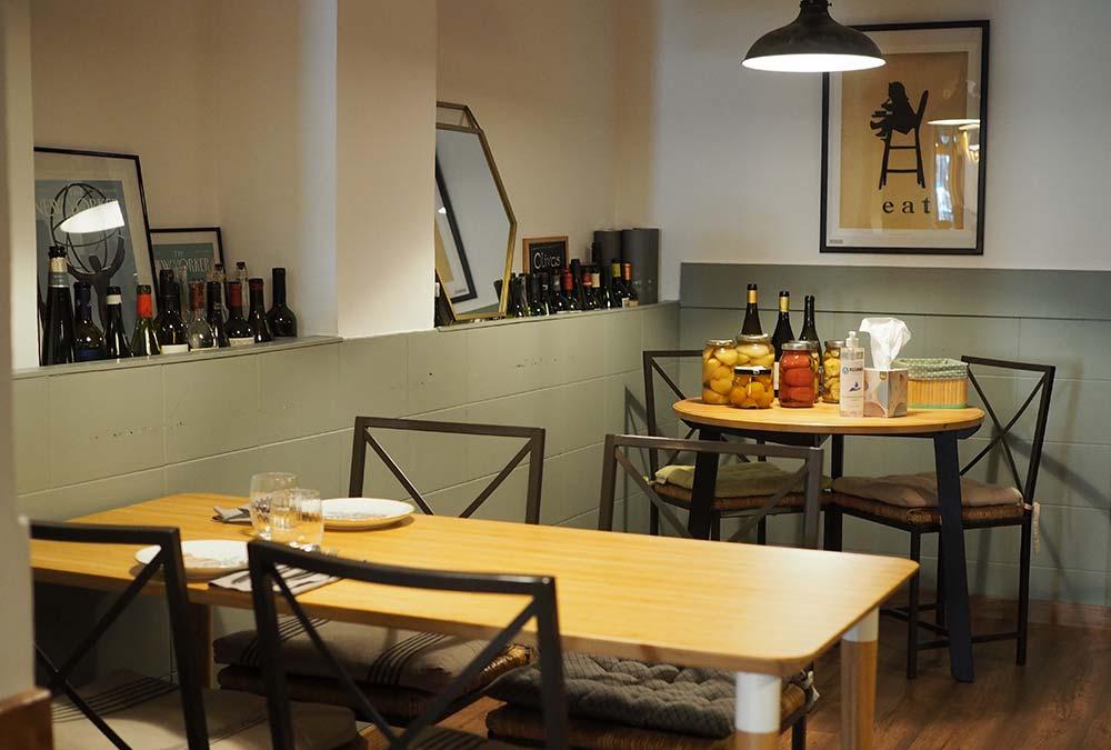 Restaurante Olivos Comida y Vinos Barcelona