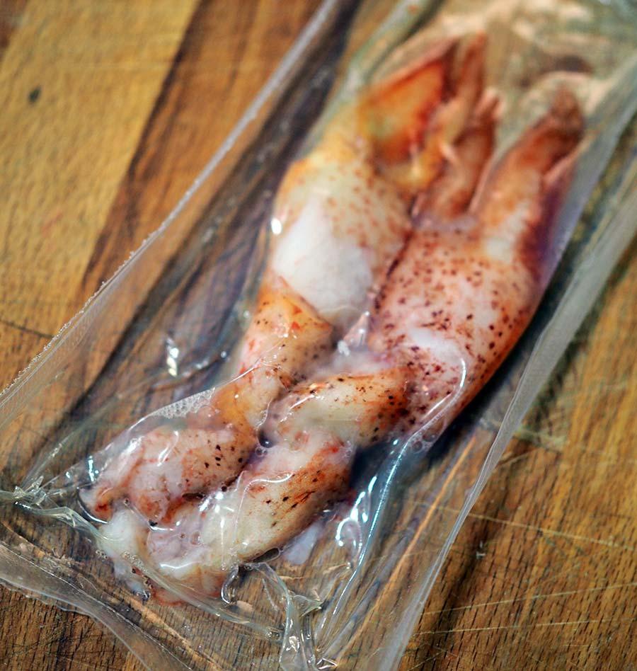 Blaqus marisco bogavante receta