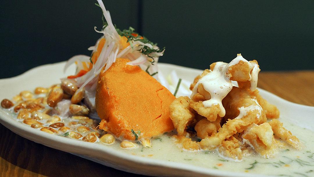 Taberna Pueblo Libre restaurante peruano Barcelona ceviche