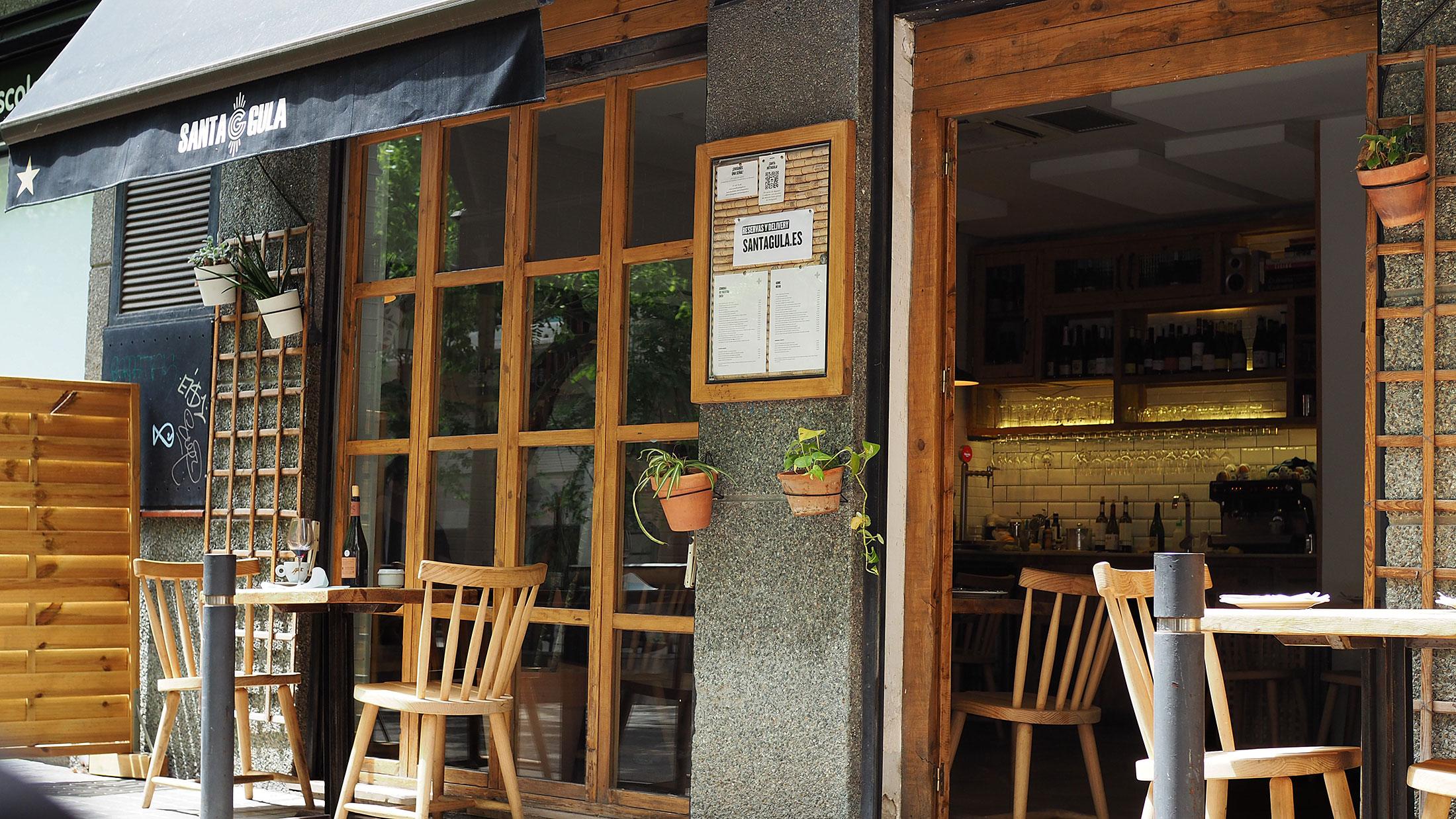Restaurante Santa Gula tapas Barcelona